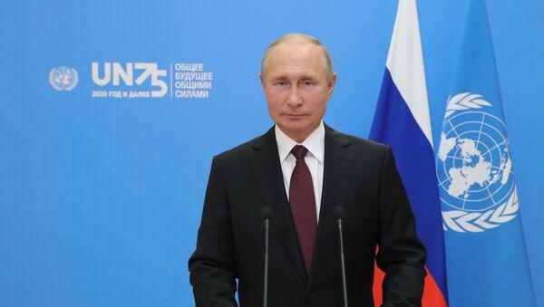 Il videomessaggio di Putin all'ONU - Sputnik Italia