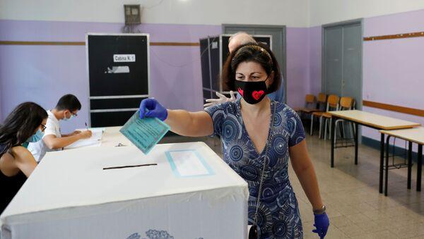 Referendum taglio parlamentari a Roma - Sputnik Italia