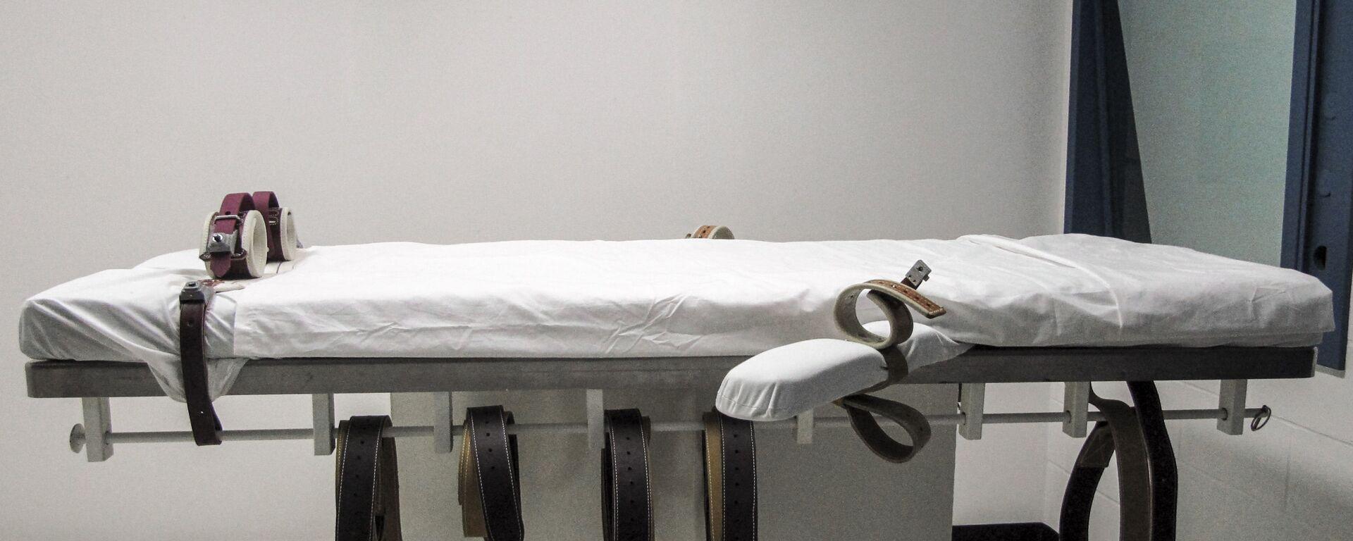 Комната для смертельной инъекции в США - Sputnik Italia, 1920, 24.01.2021