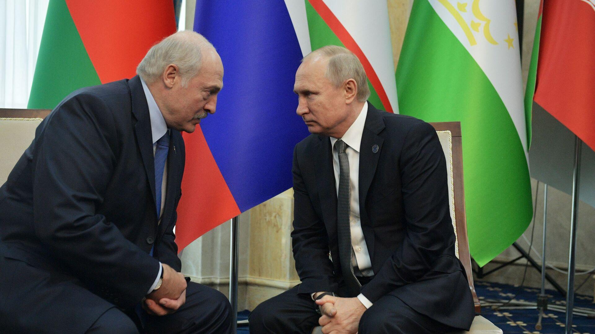 Putin e Lukashenko - Sputnik Italia, 1920, 12.09.2021