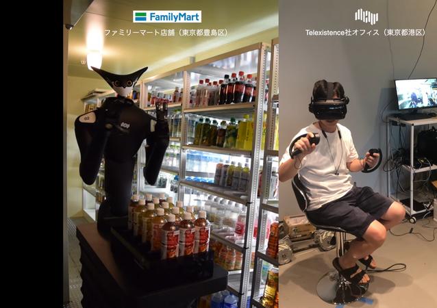 Robot Model-T in supermercato FamilyMart