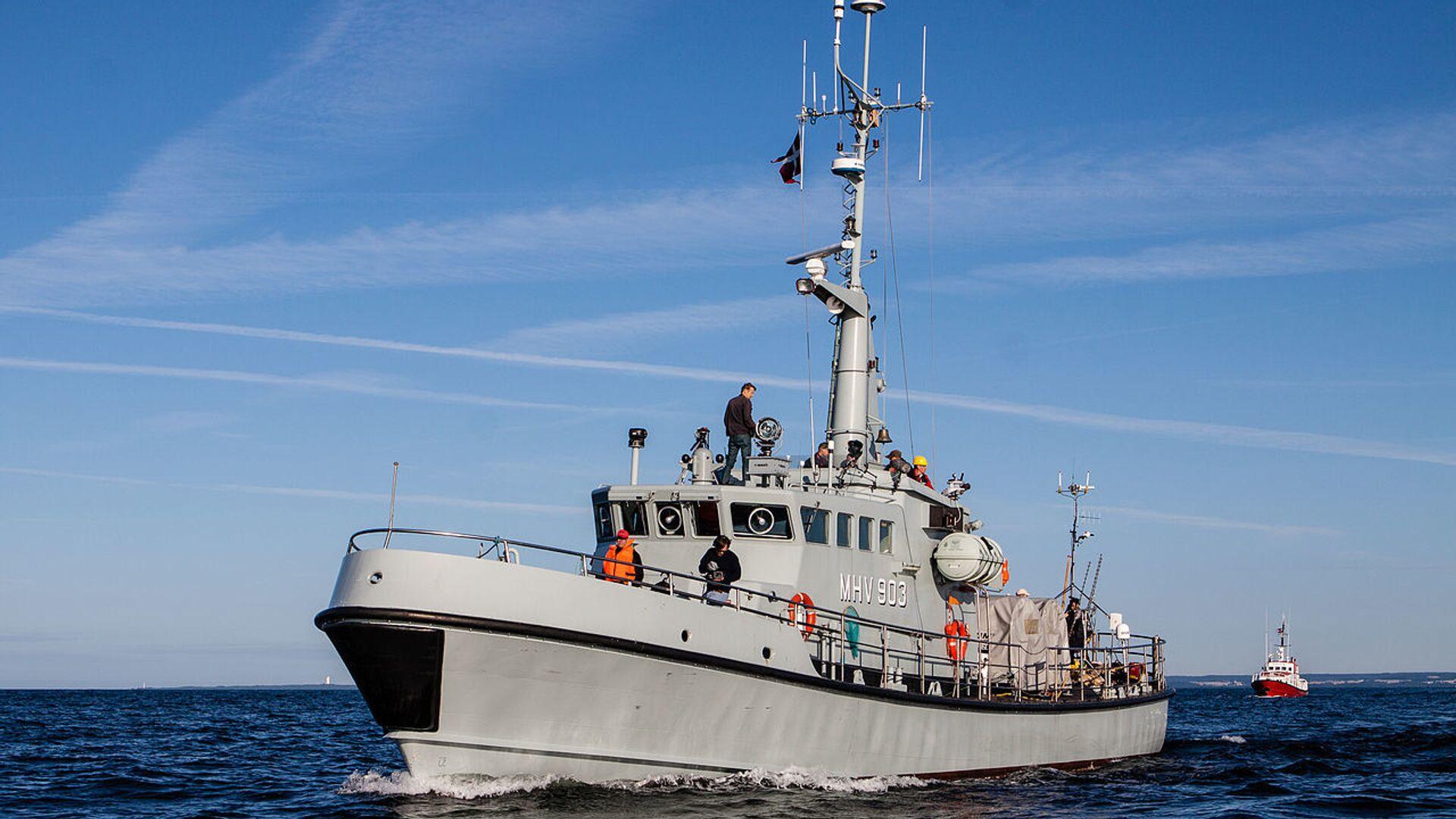 Nave della guardia costiera danese - Sputnik Italia, 1920, 12.08.2021