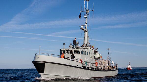 Nave della guardia costiera danese - Sputnik Italia