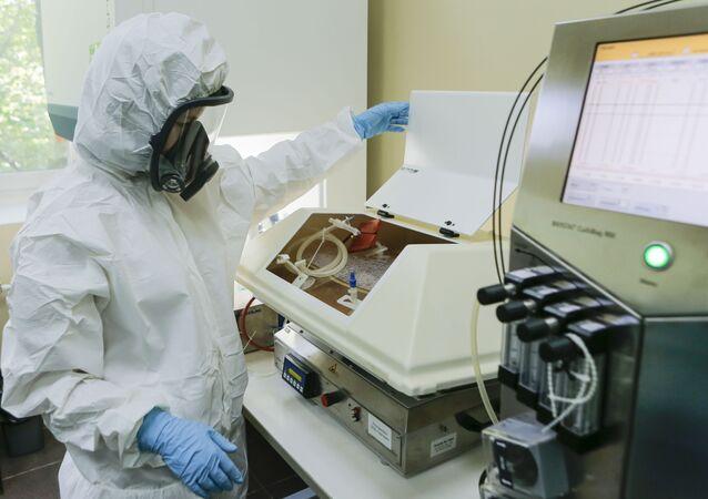 Produzione del vaccino russo contro il coronavirus