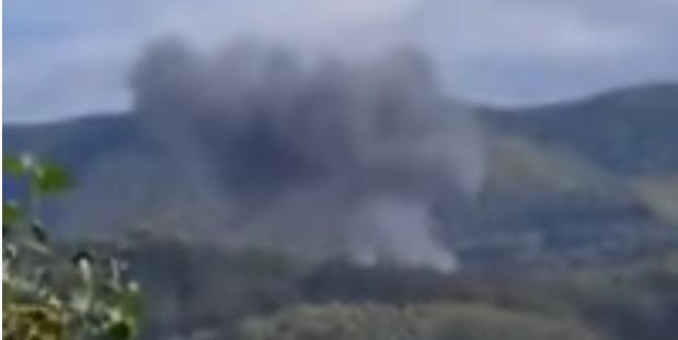 Serbia, aereo precipita nei pressi della città di Loznica