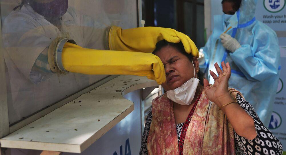 Test su Covid in India