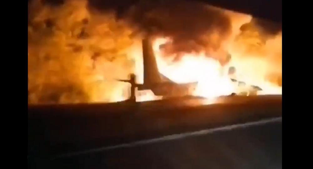 Un aereo An-26 militare si è schiantato in Ucraina