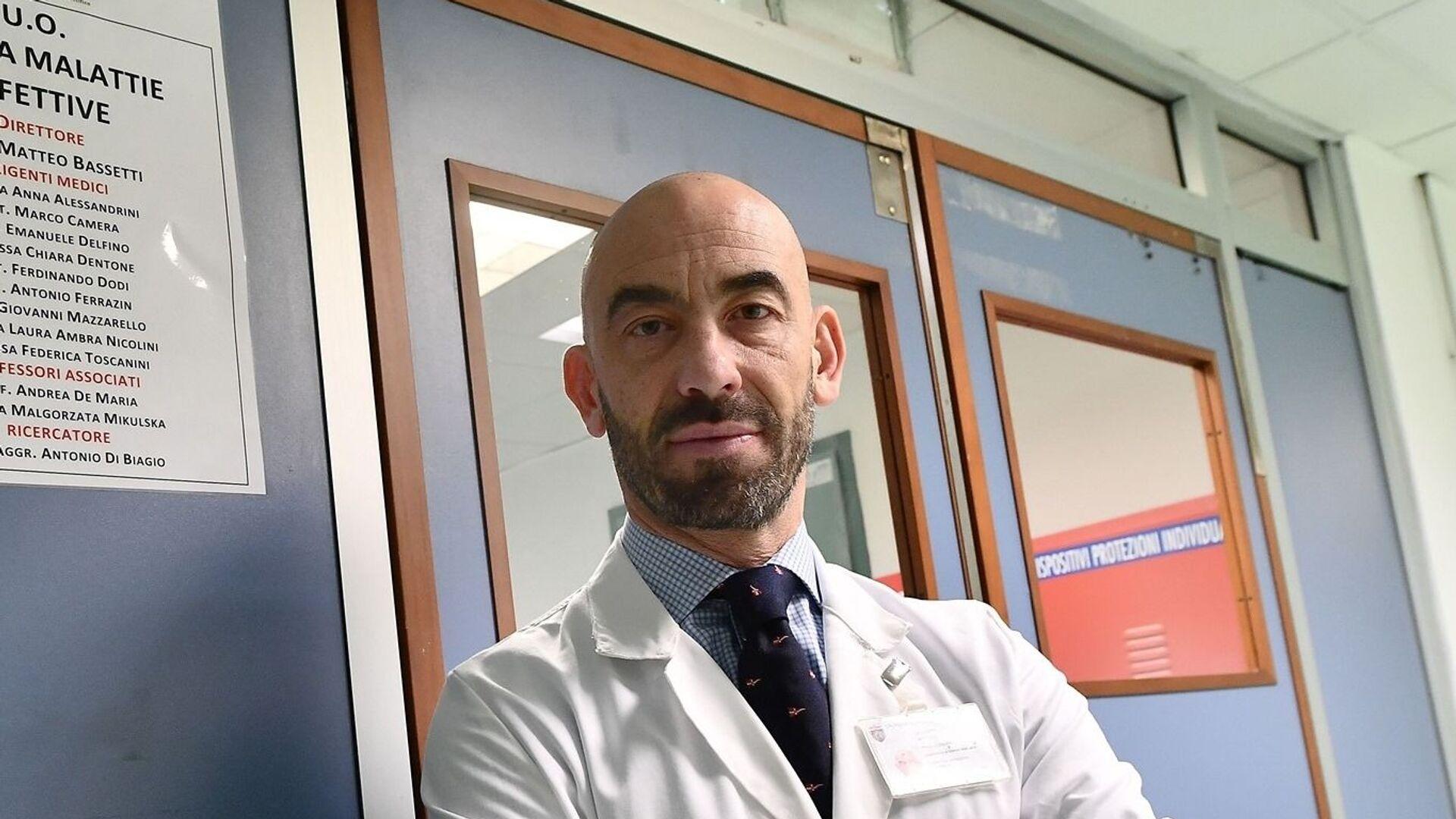Matteo Bassetti, infettivologo, primario dell'ospedale San Martino di Genova - Sputnik Italia, 1920, 13.04.2021