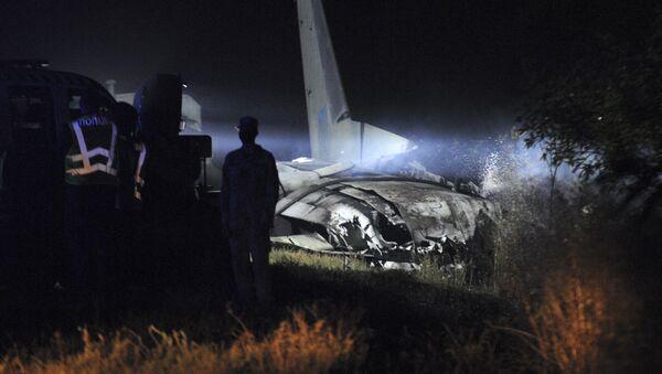 Un aereo militare AN-26 si è schiantato nella regione ucraina di Kharkov - Sputnik Italia