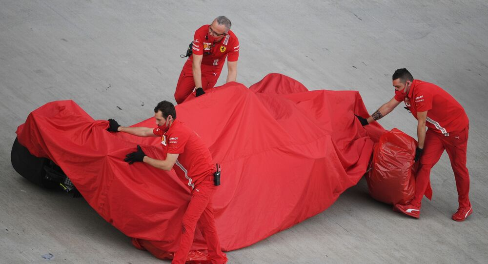 Il flop della Ferrari al GP di Sochi