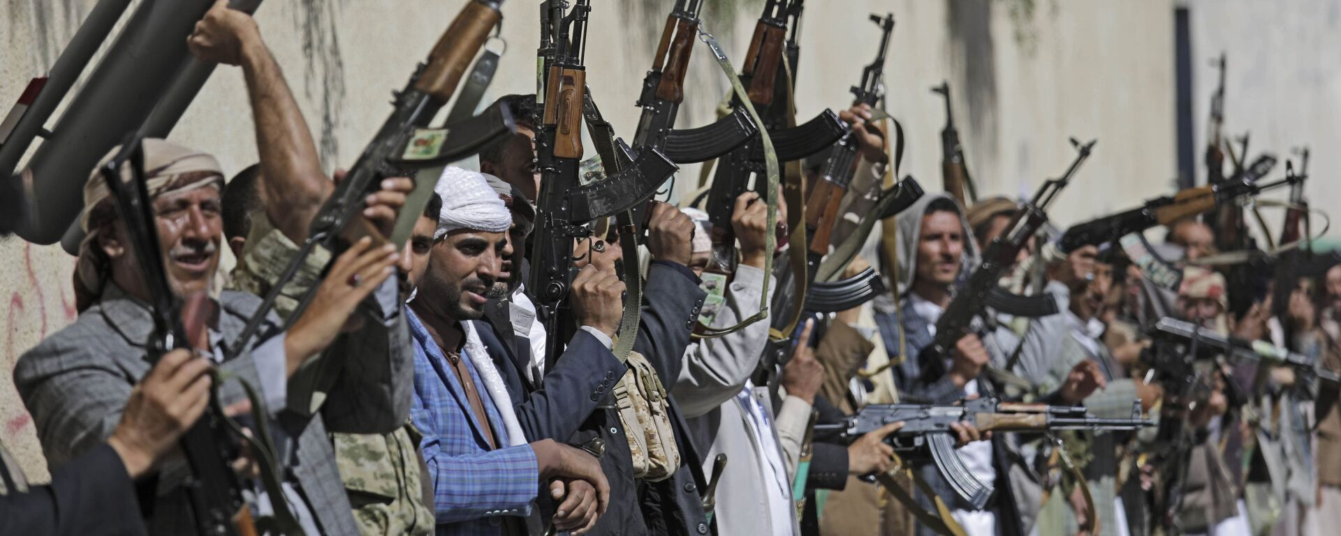 Tribù fedeli agli Houti in Yemen - Sputnik Italia, 1920, 09.05.2021