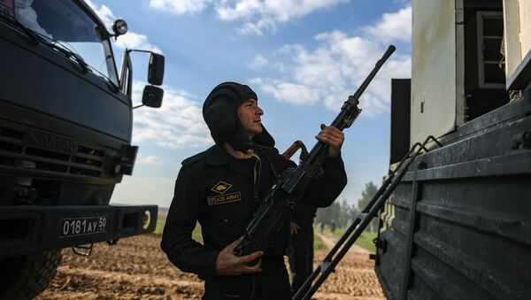 Un soldato dell'Azerbaigian - Sputnik Italia