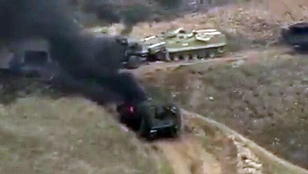 Боевые действия в Нагорном Карабахе - Sputnik Italia