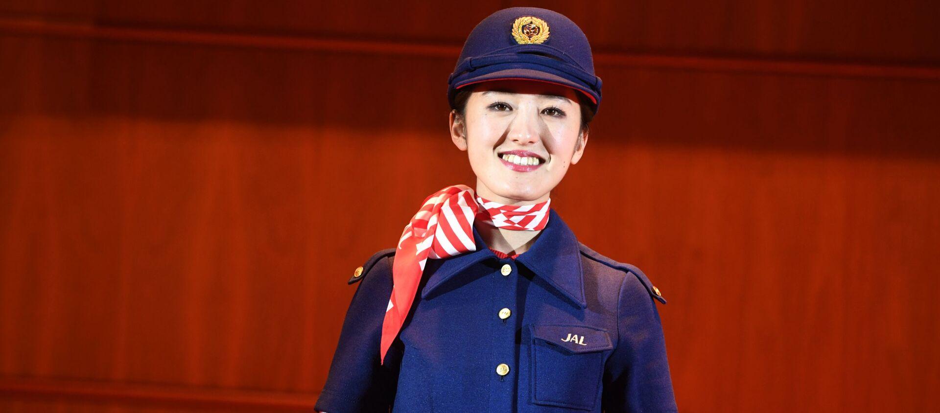 Una hostess di Japan Airlines - Sputnik Italia, 1920, 29.09.2020