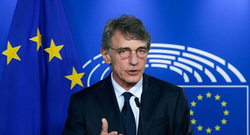 Presidente del Parlamento Europeo David Sassoli