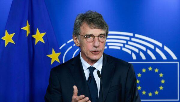 Presidente del Parlamento Europeo David Sassoli - Sputnik Italia