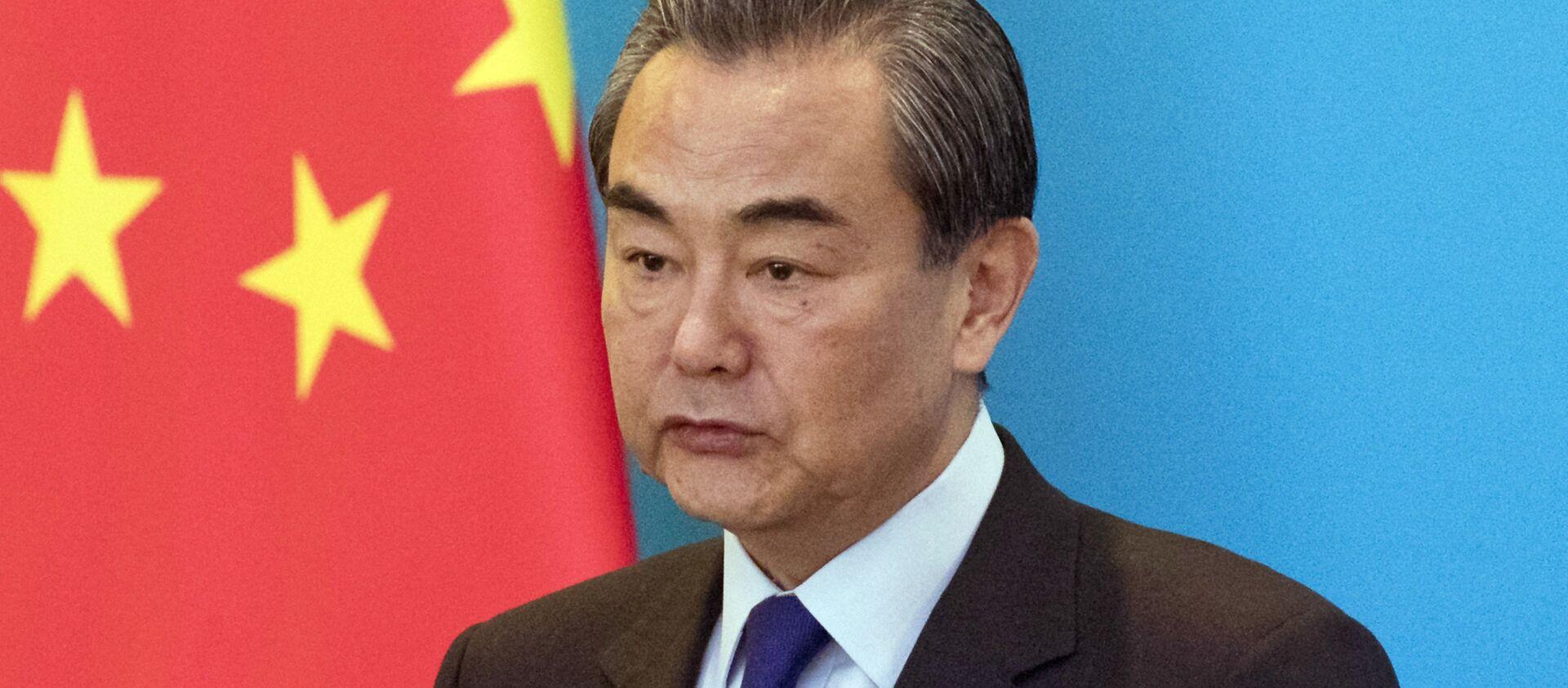 Il ministro degli Esteri cinese Wang Yi - Sputnik Italia, 1920, 02.01.2021