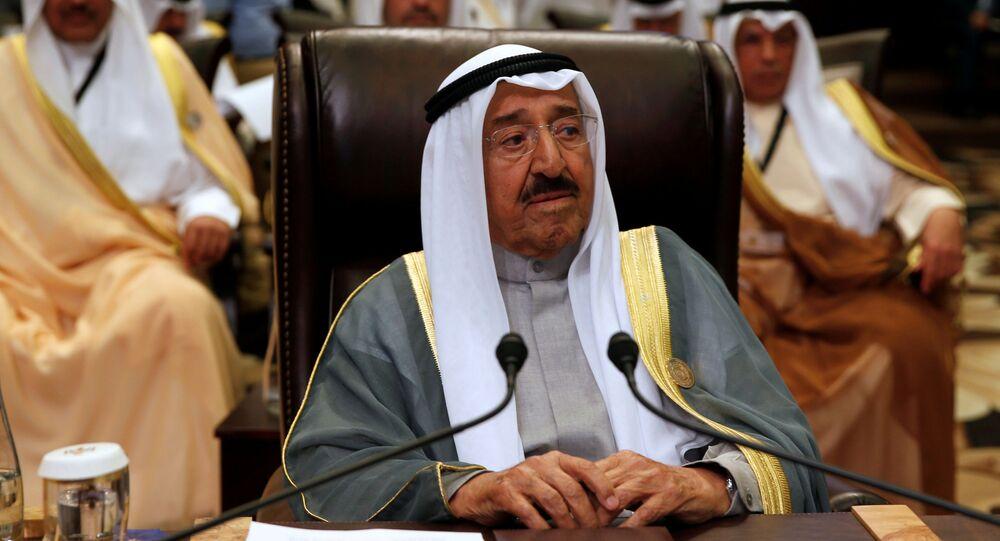 L'Emiro del Kuwait Sabah Al-Ahmad Al-Jaber Al-Sabah