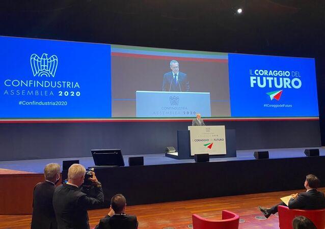 L'assemblea di Confindustria 2020