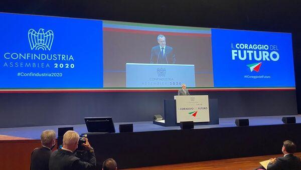 L'assemblea di Confindustria 2020 - Sputnik Italia