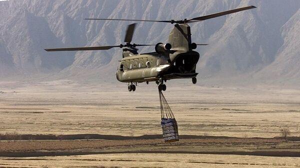 Elicottero americano CH-47 Chinook in Afghanistan (foto d'archivio) - Sputnik Italia
