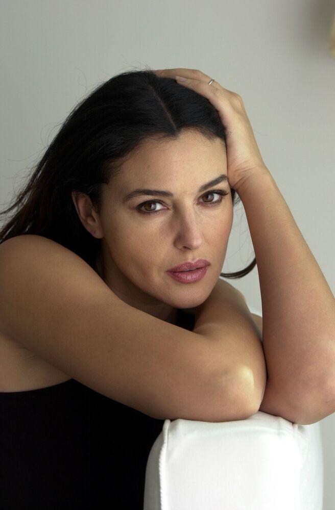 Attrice italiana Monica Bellucci
