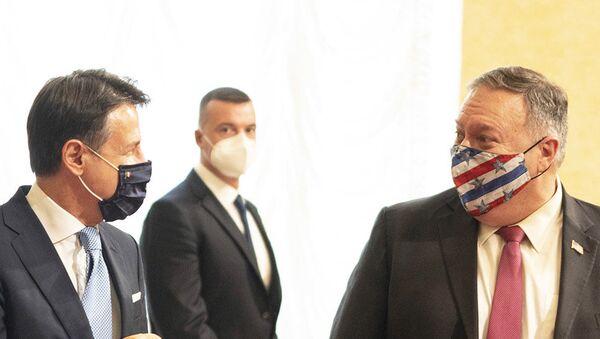 Mike Pompeo ricevuto a Palazzo Chigi - Sputnik Italia