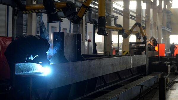 Impianto metallurgcio Uralectromed  - Sputnik Italia