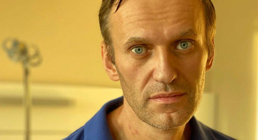 Alexey Navalny all'ospedale a Berlino
