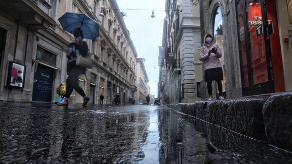 Maltempo a Roma - Sputnik Italia
