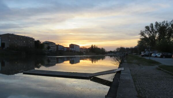 Il Po di Volano a Ferrara, nella zona della nave - Sputnik Italia