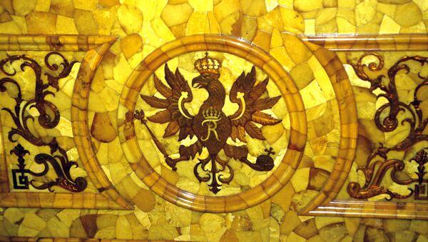 A fragment of the Amber Room - Sputnik Italia