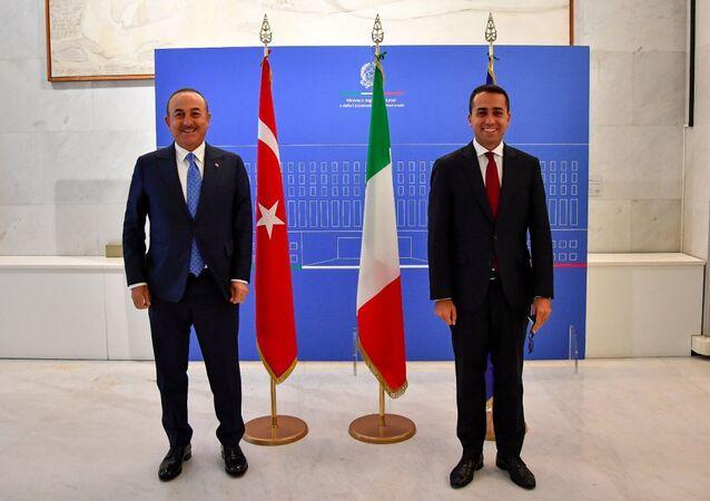 Incontro del Ministro Di Maio con il Ministro degli Affari Esteri turco, Mevlüt Çavuşoğlu