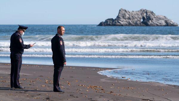 La contaminazione delle acque al largo della penisola di Kamchatka - Sputnik Italia