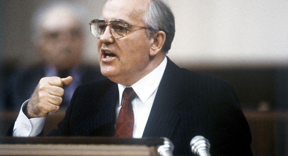Michail Gorbaciov (foto d'archivio)