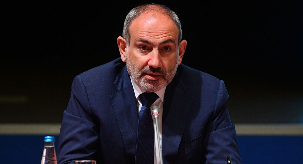 Premier armeno Nikol Pashinyan (foto d'archivio)