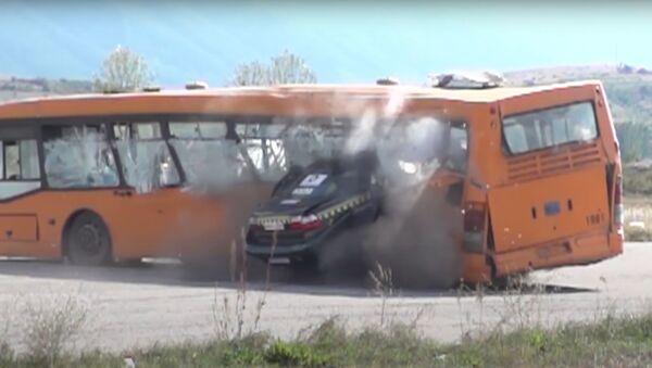 Crash test a 200 km/h - Sputnik Italia