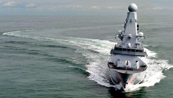 Royal Navy Type 45 Destroyer HMS Dragon - Sputnik Italia