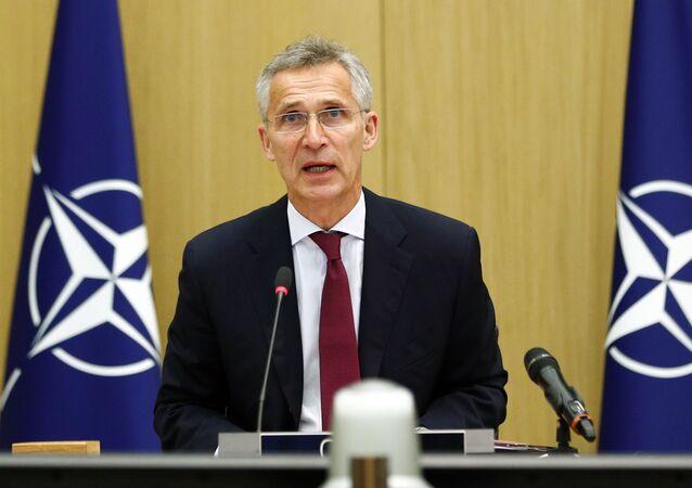 Il segretario generale della Nato Jens Stoltenberg (foto d'archivio)