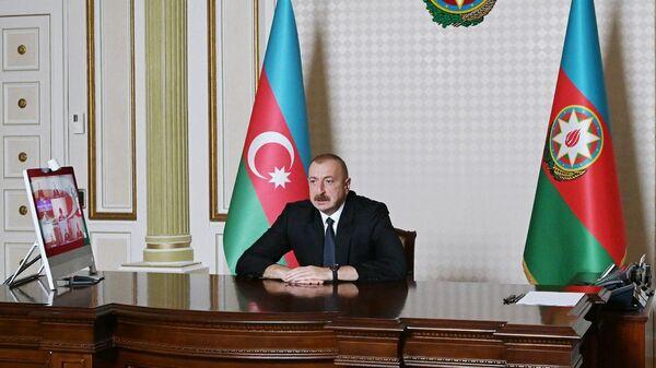 Il presidente azero Ilham Aliyev - Sputnik Italia