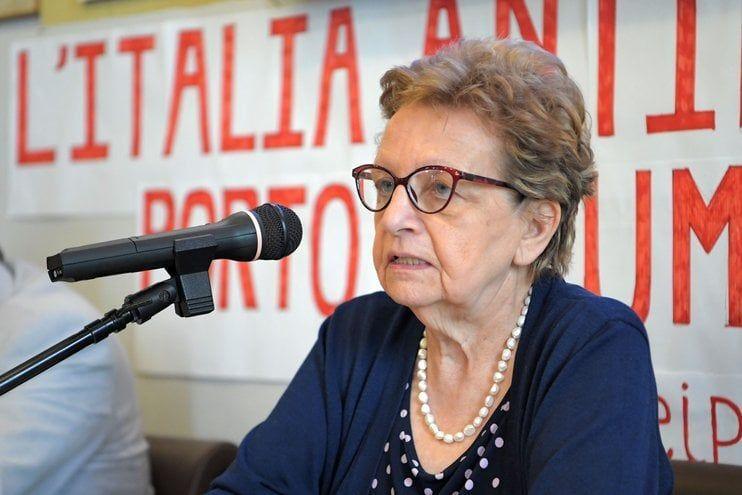 Carla Nespolo, presidente associazione nazionale partigiani
