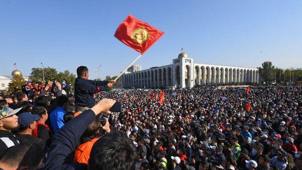 Proteste a Bishkek - Sputnik Italia