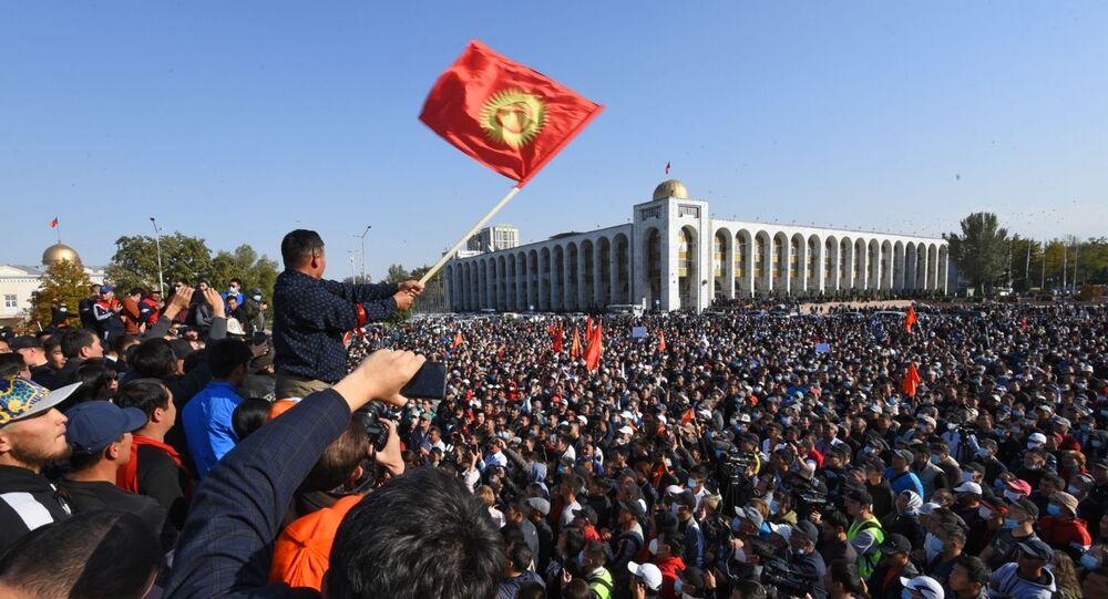 Proteste a Bishkek