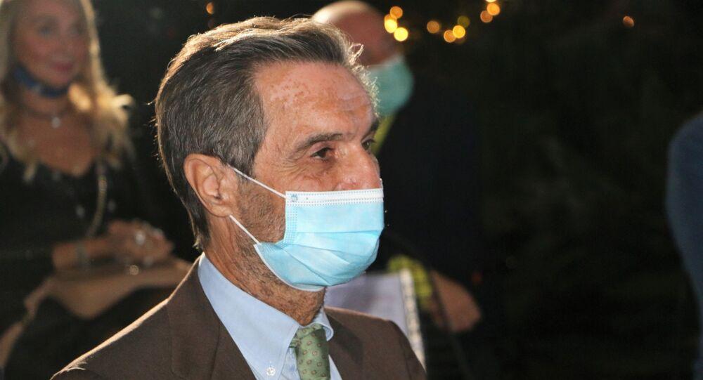 Presidente della Lombardia Attilio Fontana
