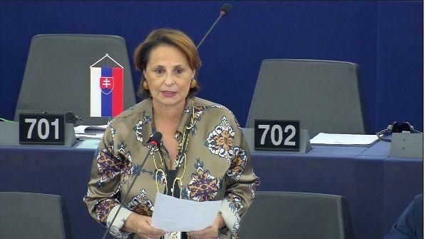 L'eurodeputata della Lega, onorevole Luisa Regimenti