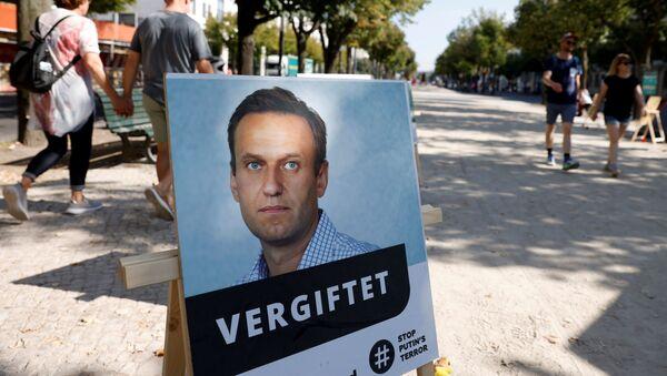 Ritratto di Alexey Navalny a Berlino - Sputnik Italia