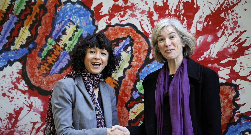 Emmanuelle Charpentier e Jennifer A. Doudna