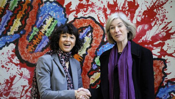 Emmanuelle Charpentier e Jennifer A. Doudna  - Sputnik Italia
