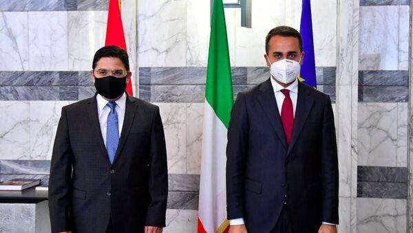 Incontro tra il Miistro degli Esteri Luigi Di Maio e l'omologo del Regno del Marocco Nasser Bourita - Sputnik Italia