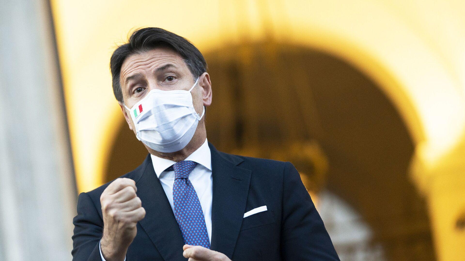 Presidente del Consiglio Giuseppe Conte - Sputnik Italia, 1920, 09.07.2021
